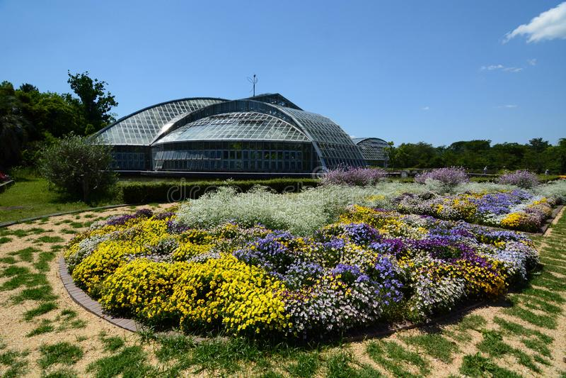 Giardino botanico di Kyoto japan fotografia stock libera da diritti