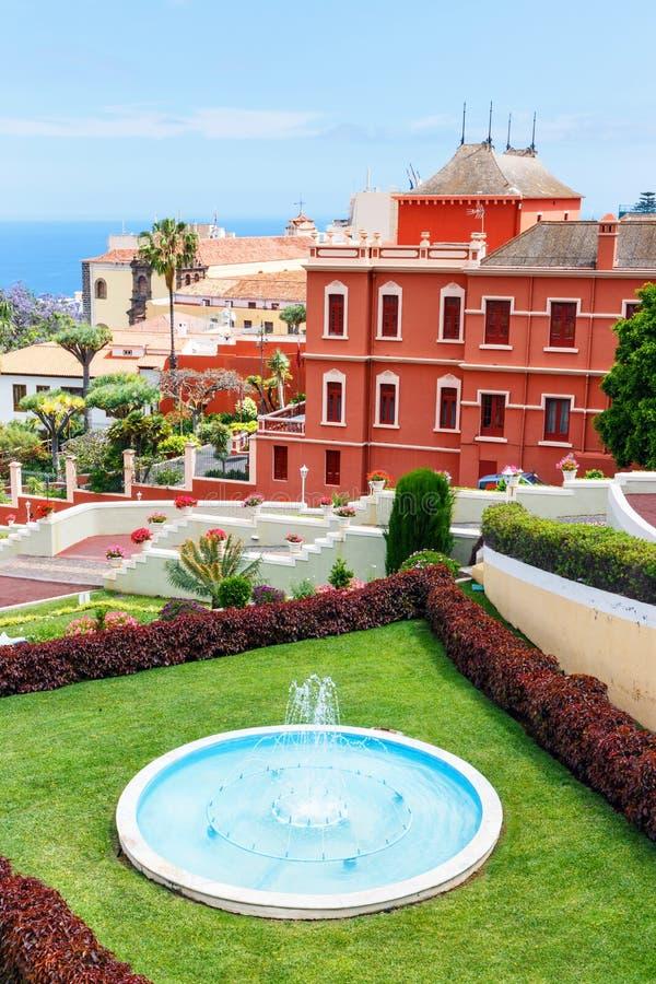 Download Giardino Botanico A La Orotava Fotografia Stock - Immagine di casa, bello: 56881786