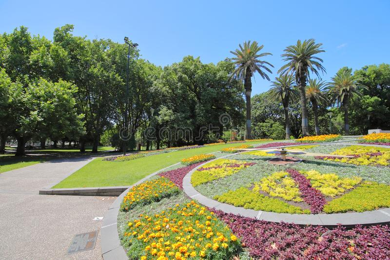 Giardino botanico reale Melbourne Australia fotografia stock libera da diritti