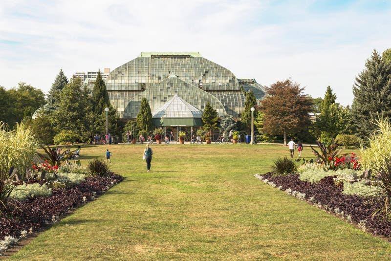 Giardino botanico storico in Chicago fotografia stock libera da diritti