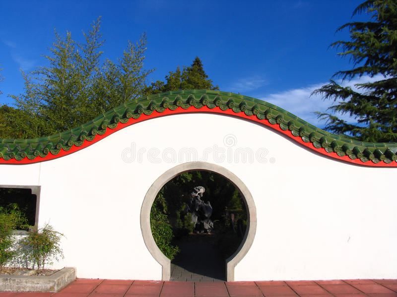 Giardino cinese fotografie stock
