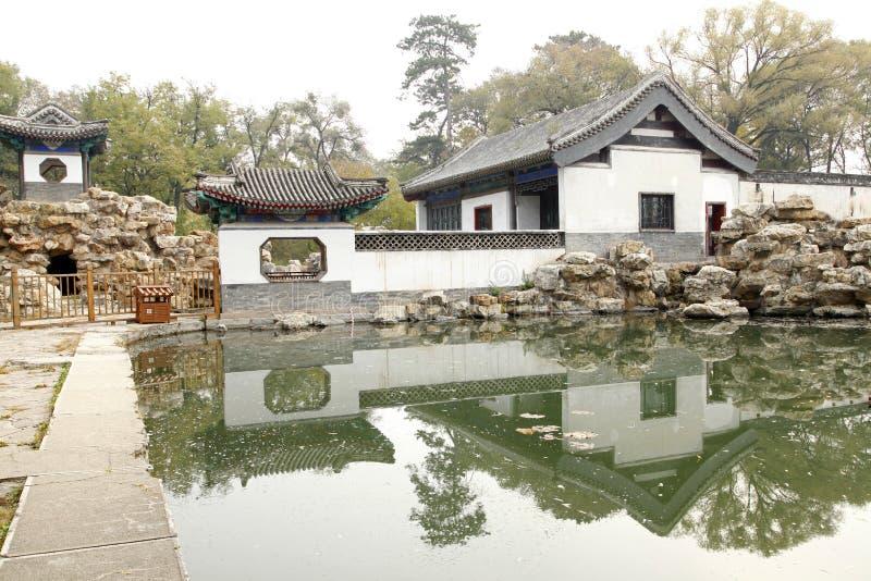 Giardino classico cinese immagine stock immagine di for Giardino cinese