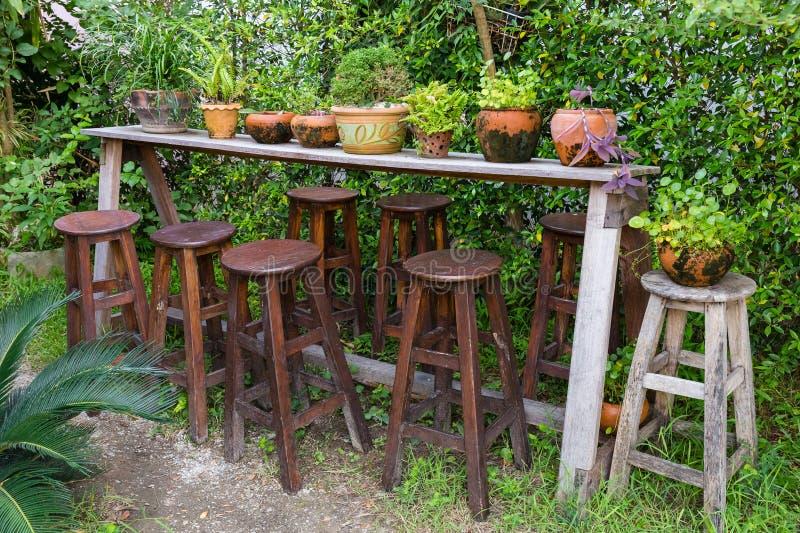 Giardino decorato immagine stock