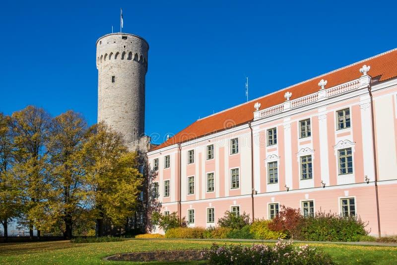 Giardino dei governatori Tallinn, Estonia fotografie stock libere da diritti