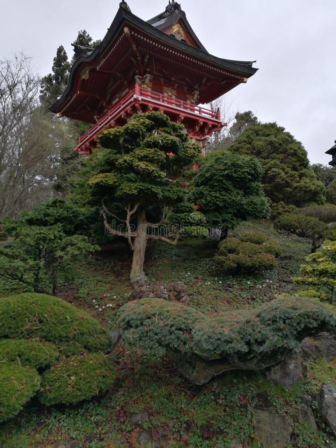 Giardino del Giappone immagini stock