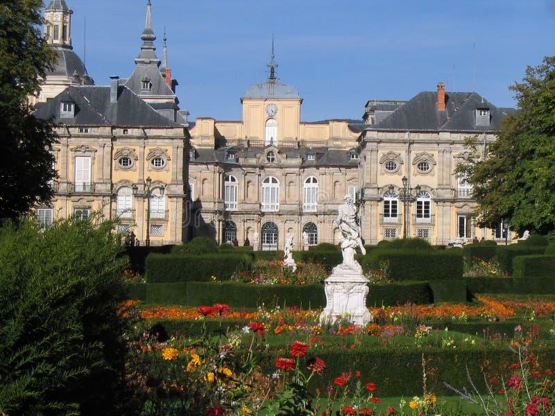 Giardino del palazzo - Segovia - Spagna fotografia stock libera da diritti