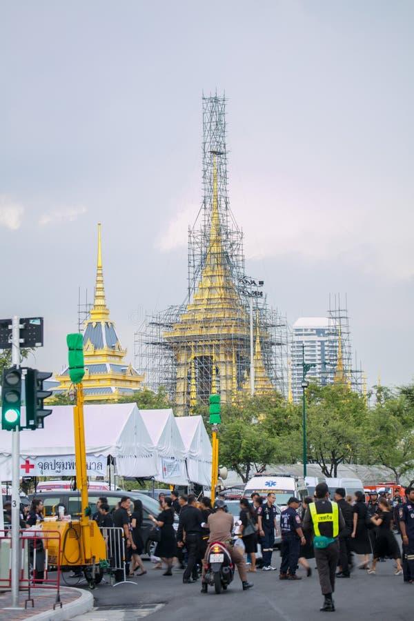 Giardino del re Rama 9 fotografia stock libera da diritti