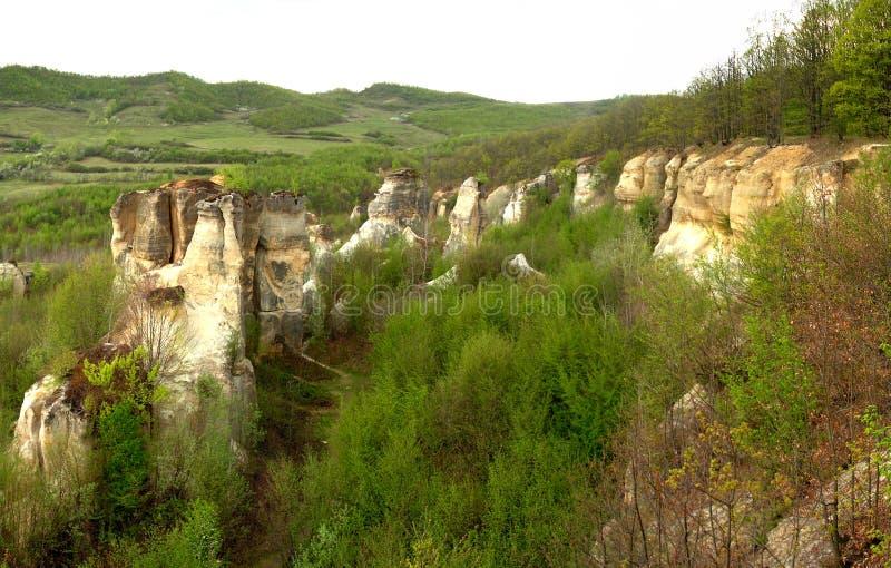 Giardino del `s del drago in Romania fotografia stock