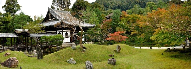 Giardino del tempio di Kyoto Kodaiji fotografia stock