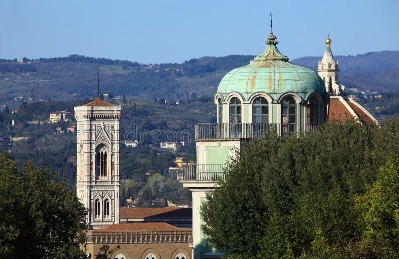 Giardino dell'Italia, di Firenze, di Boboli e monumento immagini stock libere da diritti