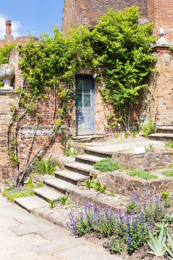 Giardino della Camera di Hatfield, Hertfordshire, Inghilterra immagini stock
