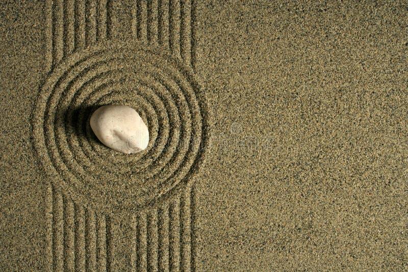 Giardino della sabbia fotografia stock