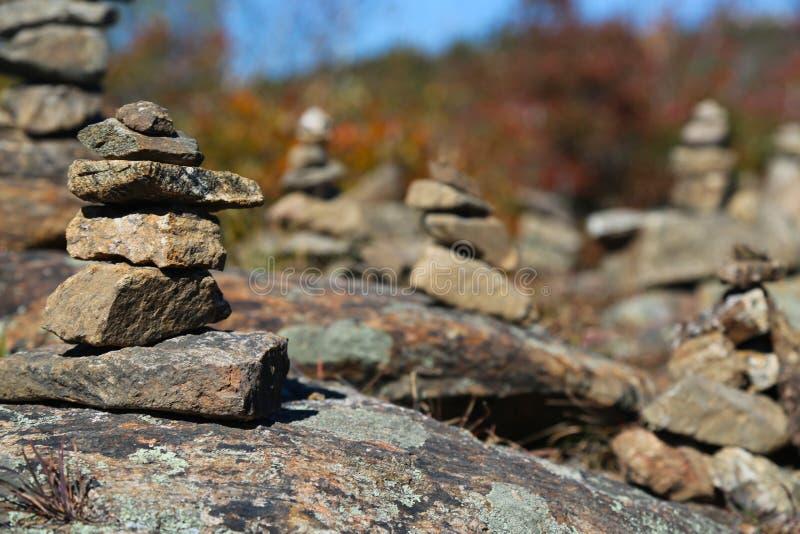 Giardino della scultura della roccia fotografia stock libera da diritti