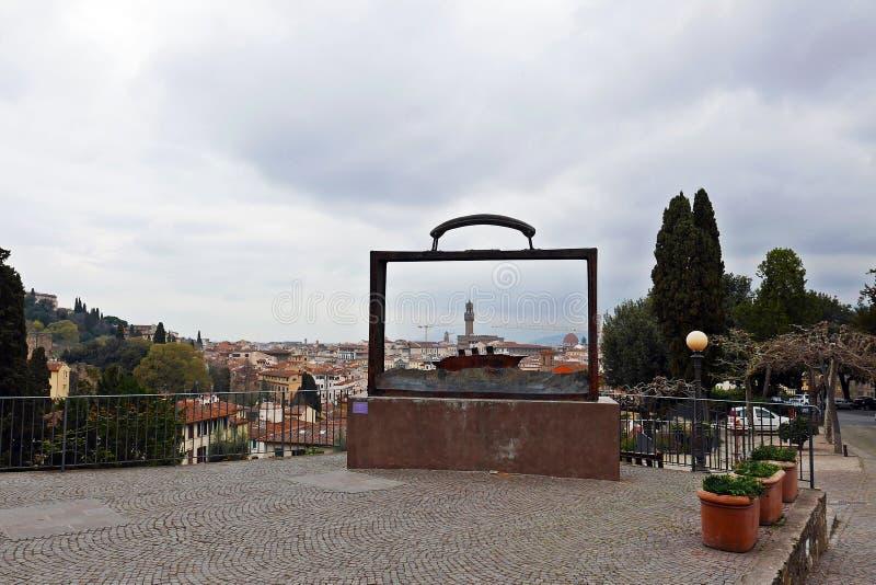 Giardino delle rose Florence stock photos