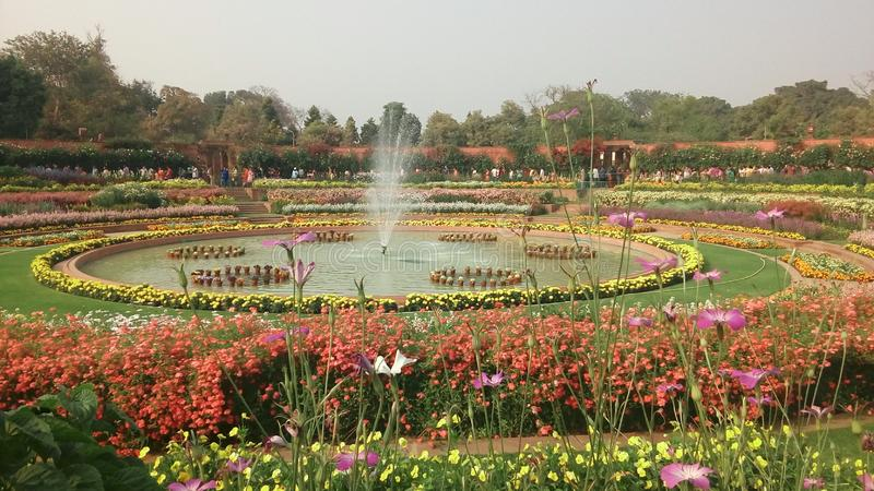 Giardino di Agra fotografie stock