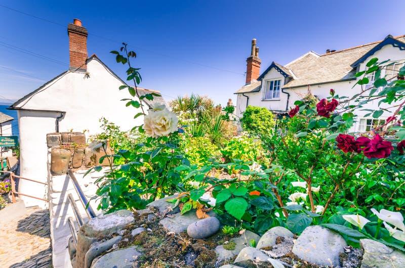 Giardino di Clovelly fotografie stock