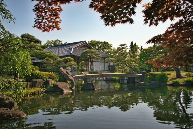 Giardino di Kokoen fotografia stock libera da diritti