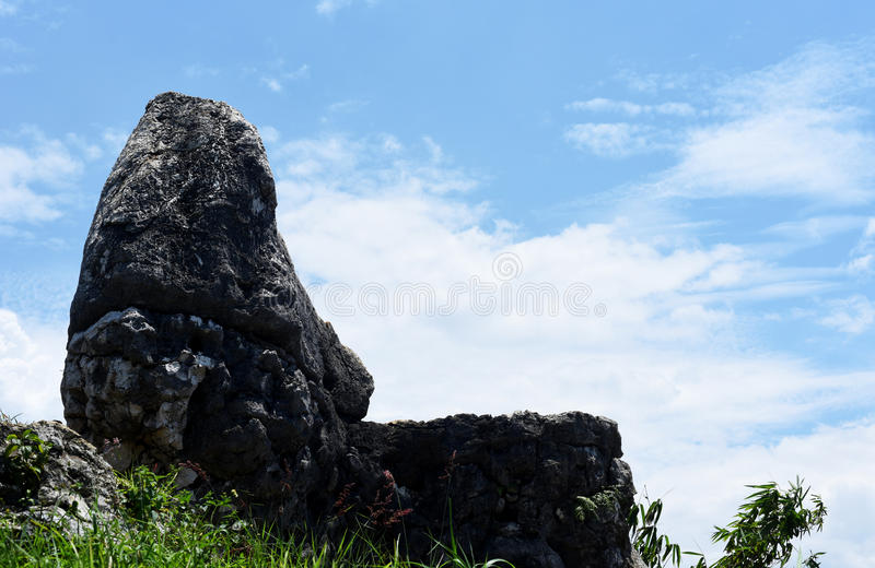 Giardino di pietra 2 fotografia stock