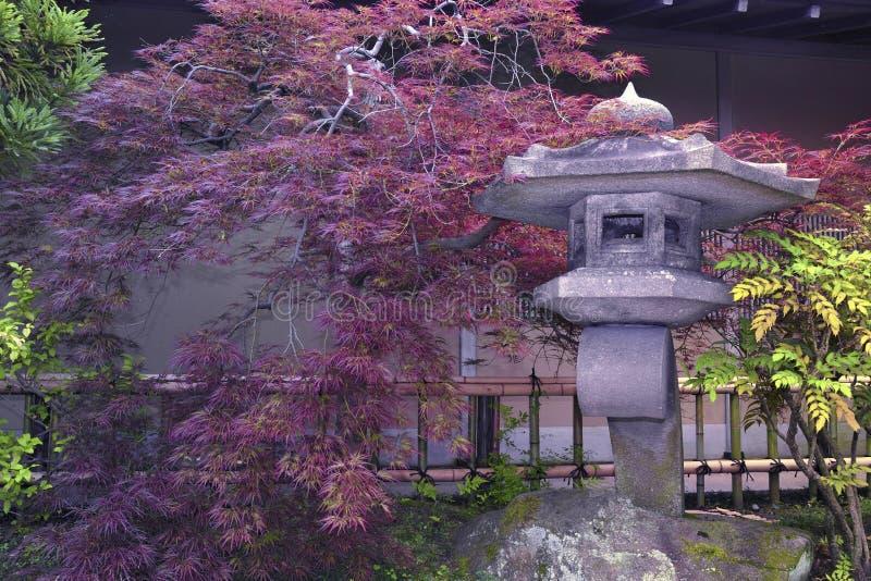 Giardino di pietra giapponese fotografia stock