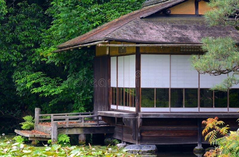 Giardino di Shosei, Kyoto, Giappone immagini stock libere da diritti