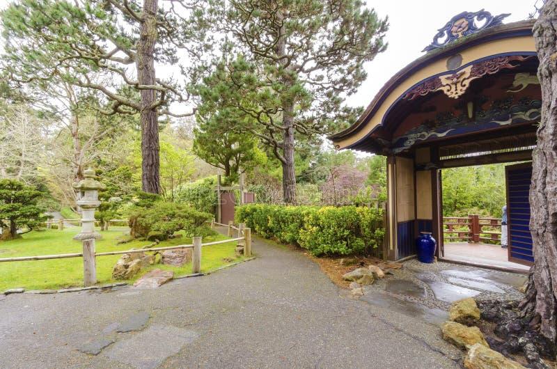 Giardino di tè giapponese, San Francisco immagini stock libere da diritti