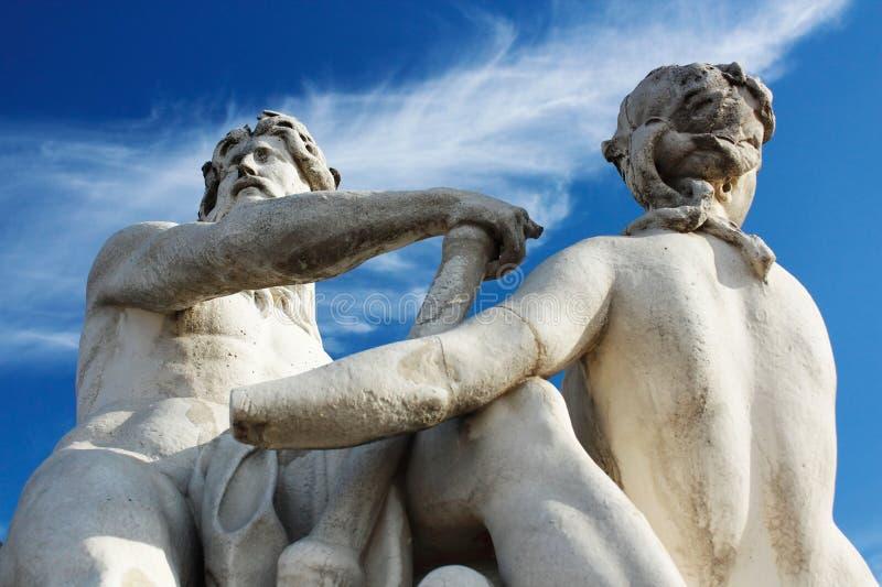 Giardino di Tuileries a Parigi immagine stock