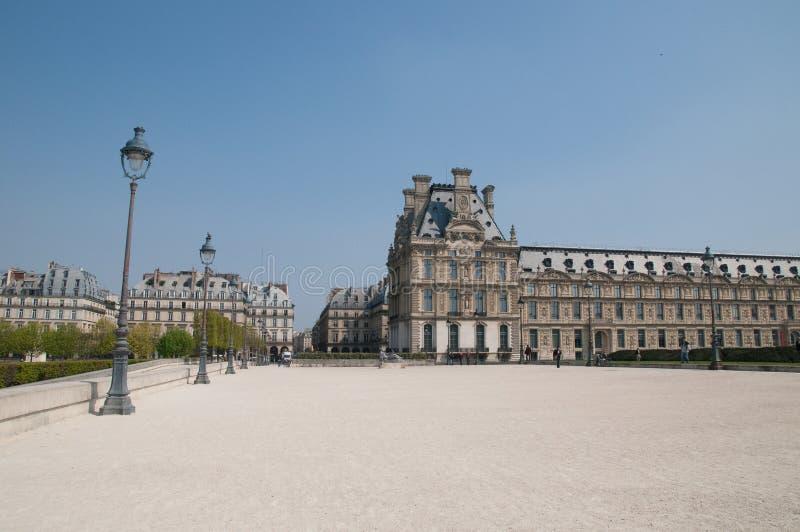 Giardino di Tuileries a Parigi immagini stock libere da diritti