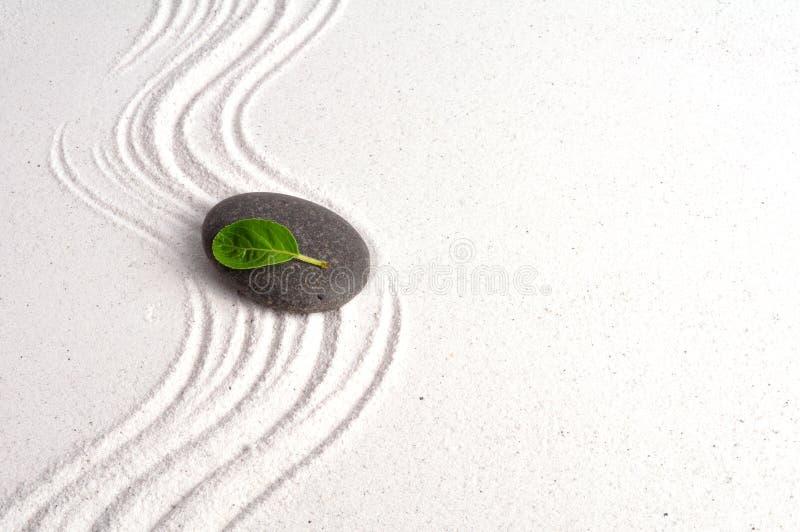 Giardino di zen immagine stock