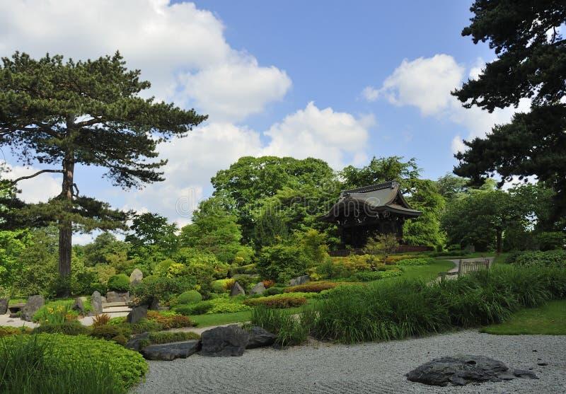Giardino giapponese immagine stock