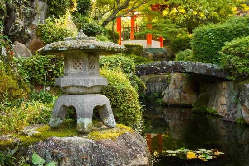 giardino giapponese originale immagine stock immagine di