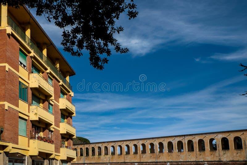 Giardino Scotto a Pisa - giardini pubblici e parco, Italia fotografie stock