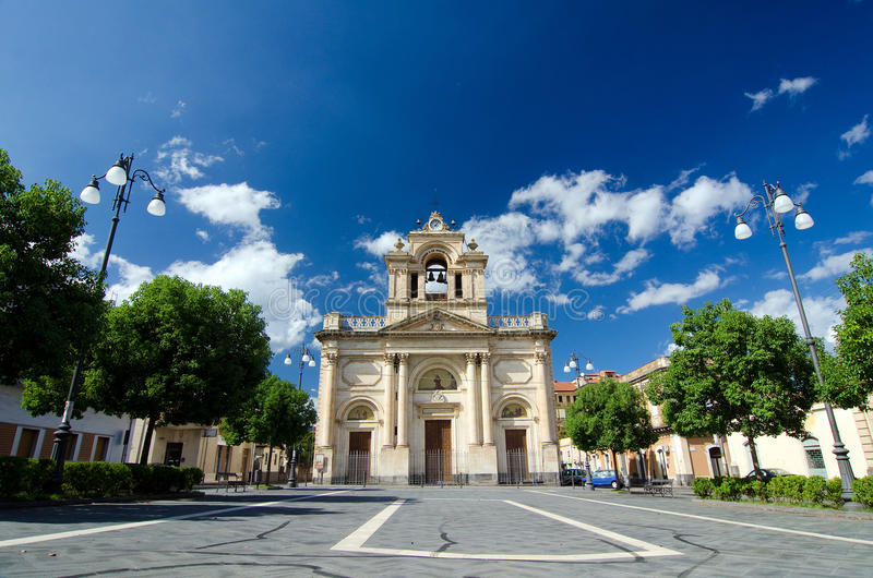 Giarre-Riposto, Sicile image libre de droits