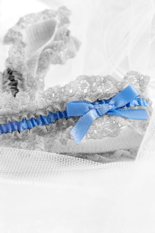 Giarrettiera del merletto fotografia stock libera da diritti