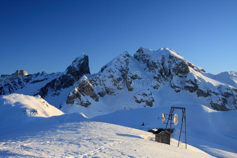 Giau Pass Dolomite royalty free stock photography