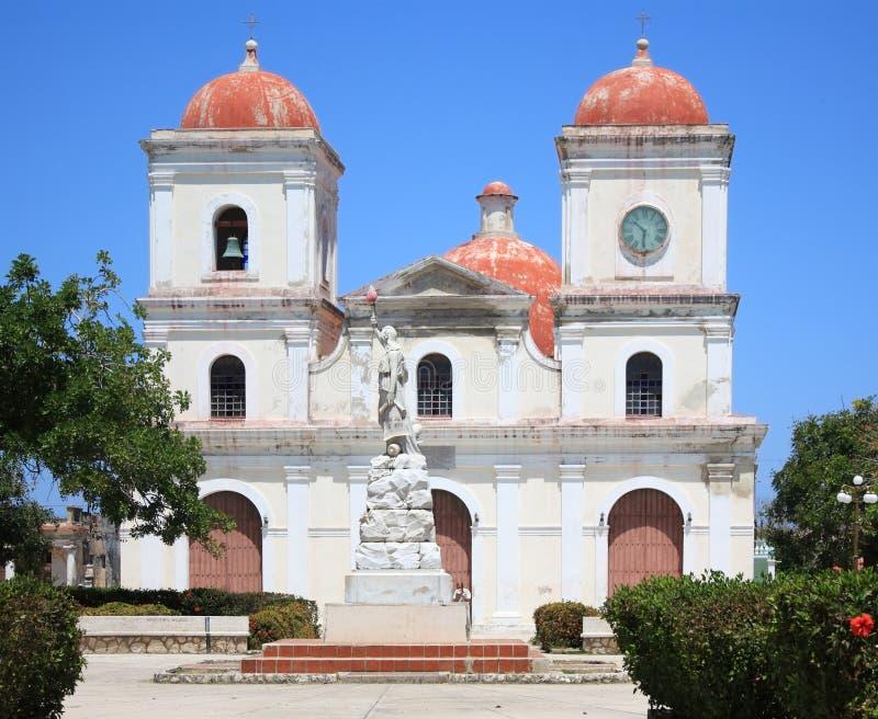 gibara s san fulgencio Кубы церков стоковая фотография rf