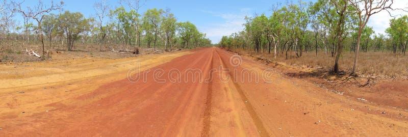 Gibb flodväg, kimberley, västra Australien arkivfoto