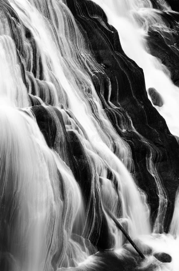 Gibbon Falls Yellowstone National Park Royalty Free Stock Photos