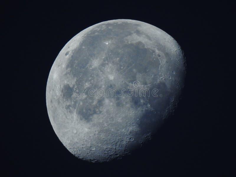 gibbous луна waning стоковая фотография rf