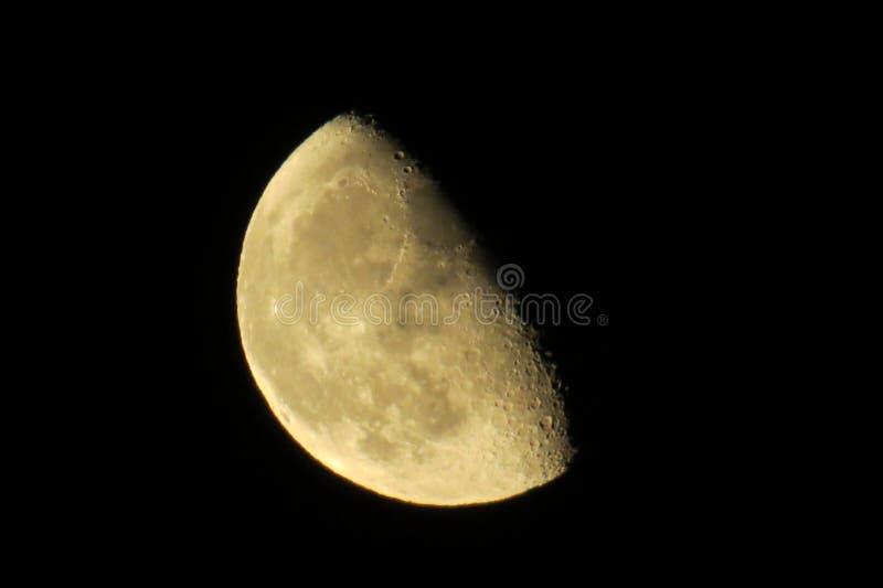 Gibbous Mond lizenzfreie stockfotos