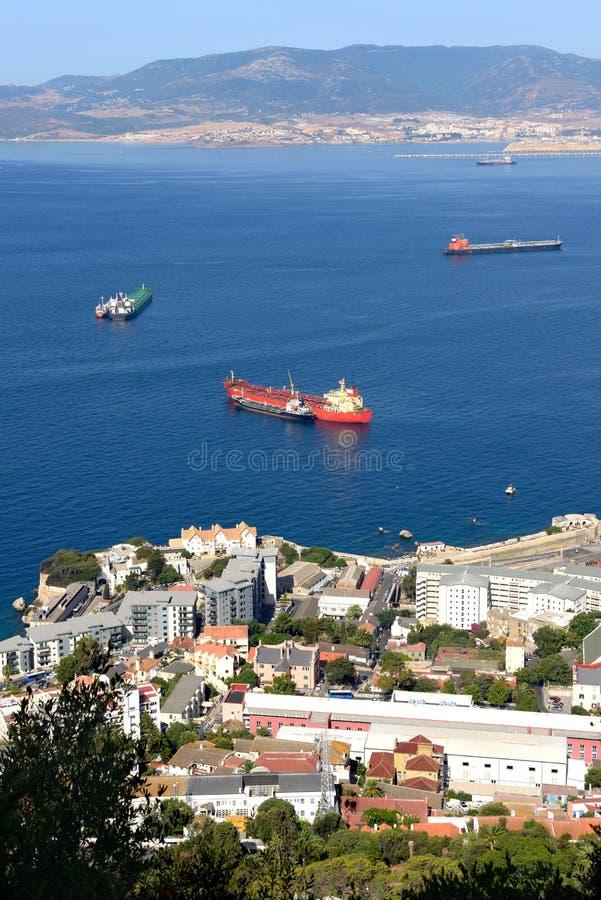 Gibraltar lizenzfreie stockbilder