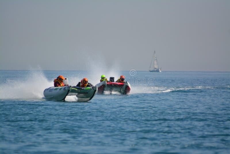 Gibraltar - Donder Cat Racing European Championships 2014 royalty-vrije stock foto