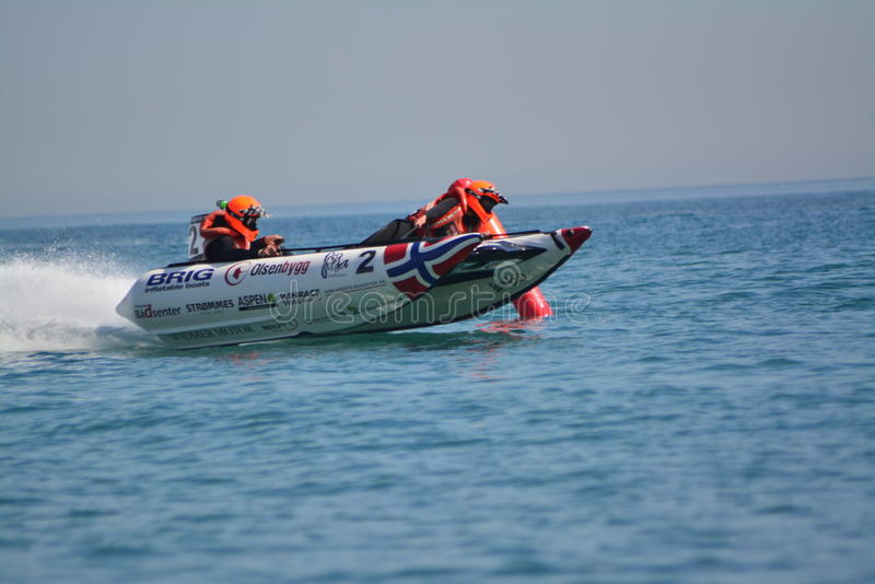 Gibraltar - Donder Cat Racing European Championships 2014 stock foto