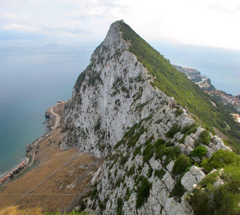 gibraltar highest point στοκ φωτογραφία με δικαίωμα ελεύθερης χρήσης