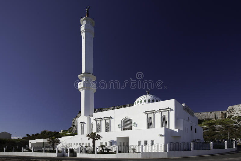 gibraltar meczet obraz royalty free