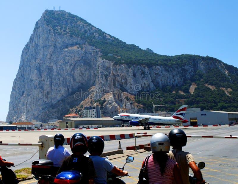 gibraltar skała fotografia royalty free