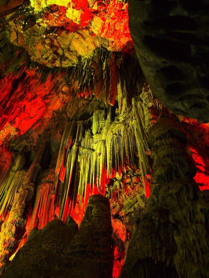 Gibraltar, St Michaels Cave imagem de stock royalty free