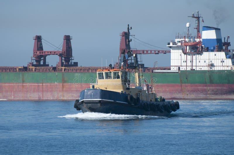 Download Gibraltar Tugboat stock image. Image of crane, tyres - 20228091