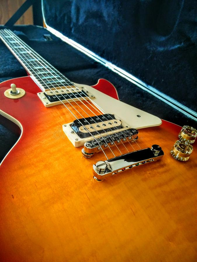 Gibson Les Paul Classic photographie stock libre de droits