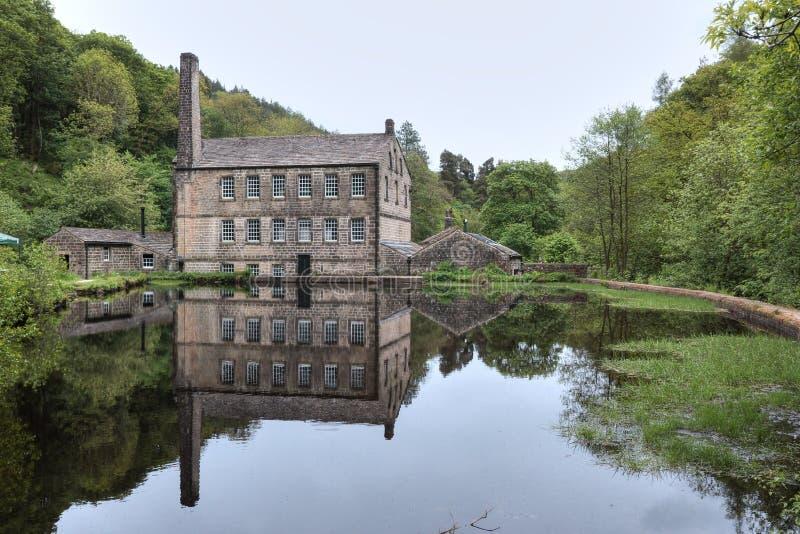 Gibson Mill, rochers de Hardcastle photos libres de droits