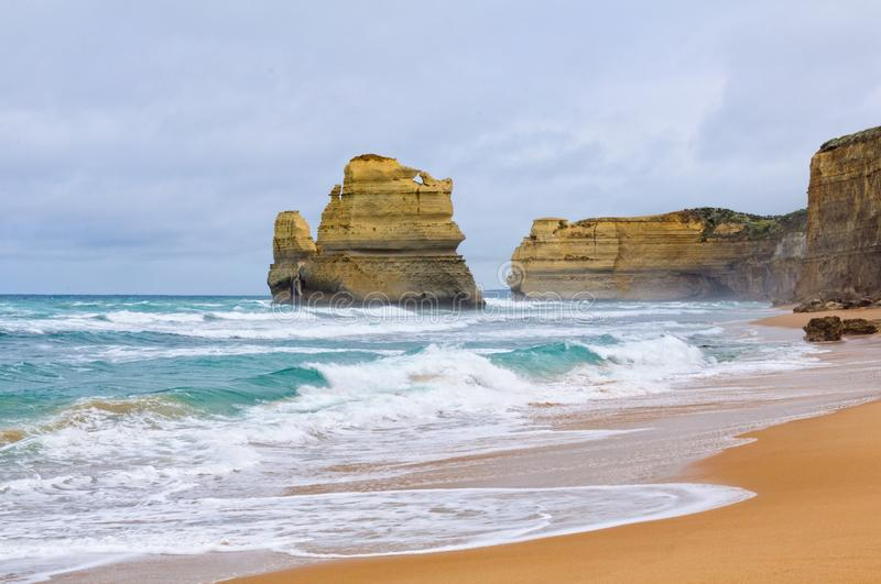 Gibson Steps Beach - Port Campbell royalty free stock photography